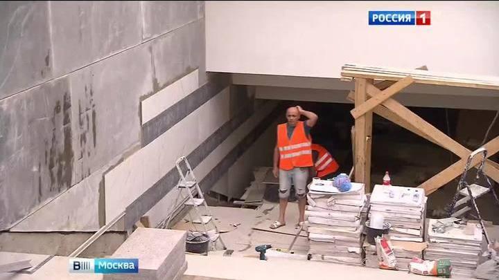 Трудности перехода: затянувшийся ремонт вестибюлей метро возмущает москвичей