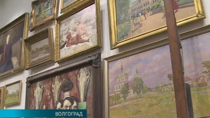 В Волгограде открылась выставка, посвященная художнику Илье Машкову