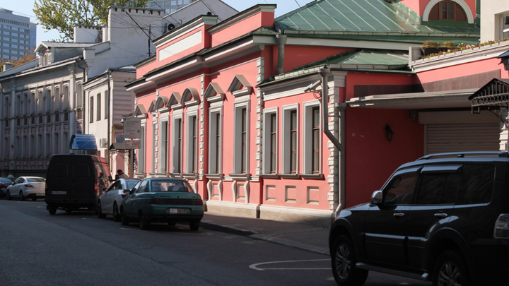 Москва, Борисоглебский переулок. У  Цветаевым – сюда!