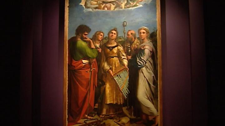 Портретная живопись Рафаэля выставлена в Пушкинском музее