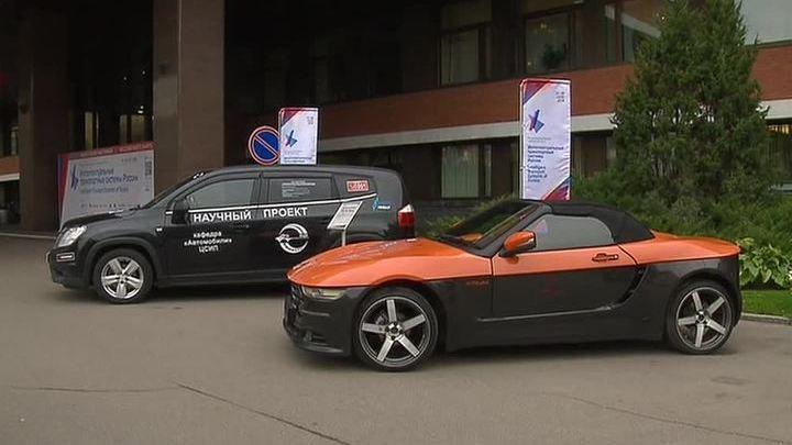 Такси без водителей: новинки на форуме в Москве