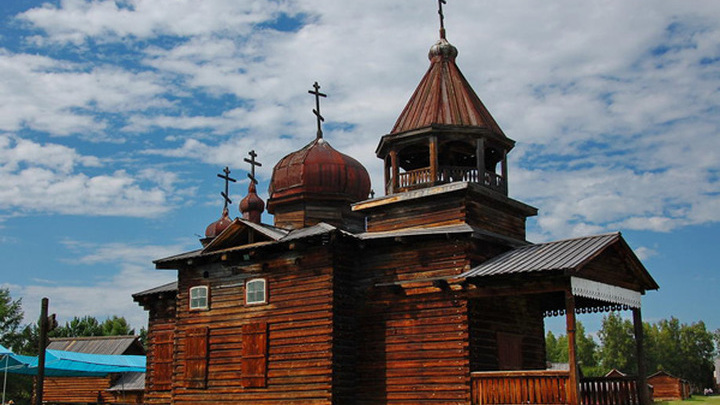 """В """"Тальцах"""" переносят на новое место церковь Пресвятой Троицы"""