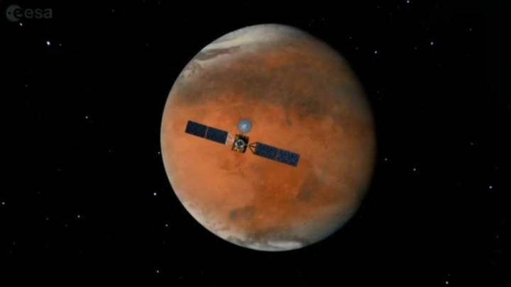 Роскосмос: Schiaparelli может подать сигнал с Марса в течение 10 дней