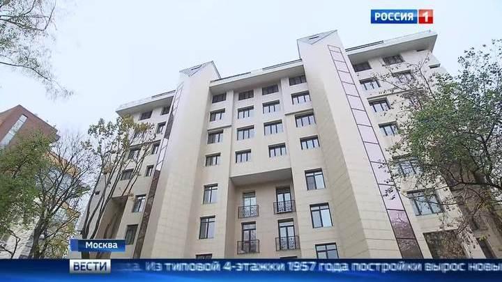 Жители надстроенного дома в Москве готовятся к новоселью