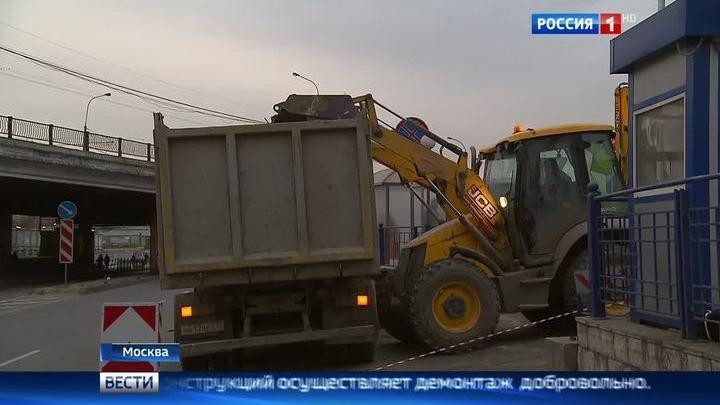 Московский самострой готовится к третьей волне сноса