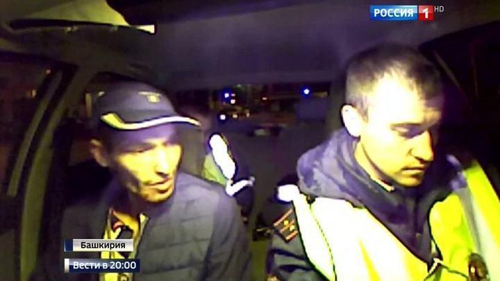 Хам на дороге: мажор с левой мигалкой подрезал главного инспектора Башкирии