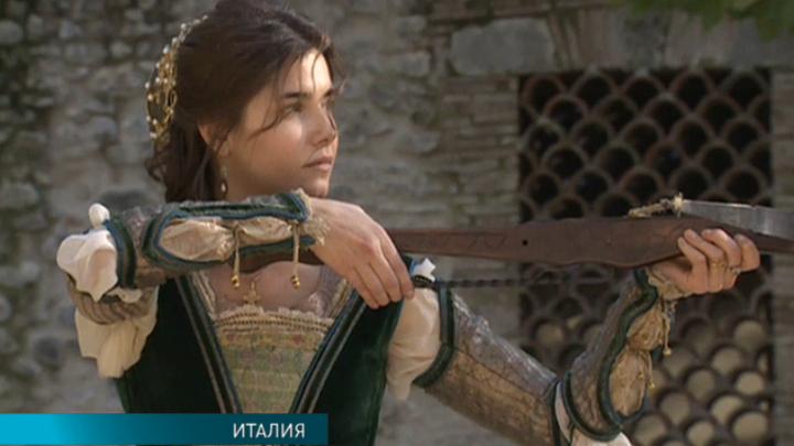 Завершаются съёмки многосерийного фильма, посвящённого Софии Палеолог
