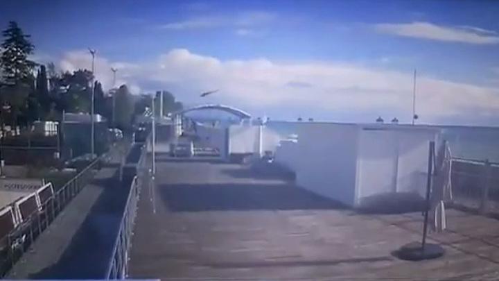 После гибели пассажирки вертолета в Сочи возбуждено уголовное дело
