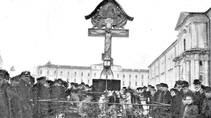 В Кремле появится крест в память о Великом князе Сергее Александровиче
