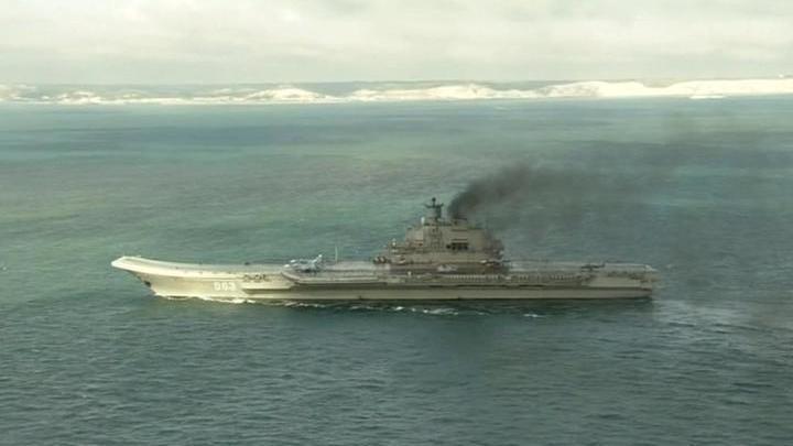 """На """"Адмирале Кузнецове"""" и других кораблях Северного флота закончились крестики и святое миро"""