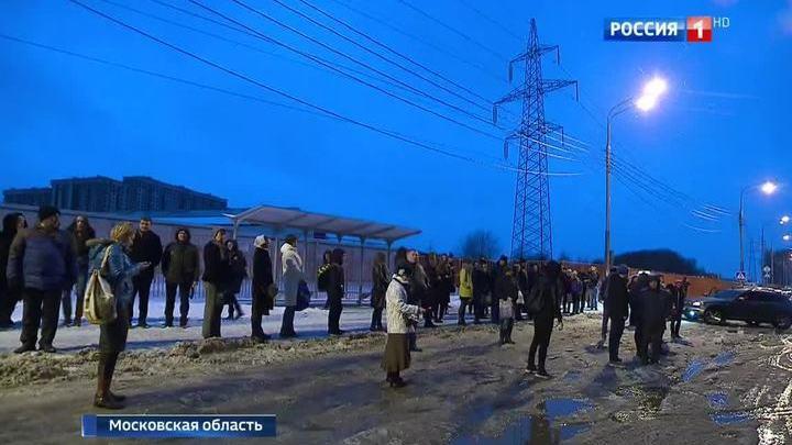 """Жители """"Путилкова"""" - в транспортной блокаде"""