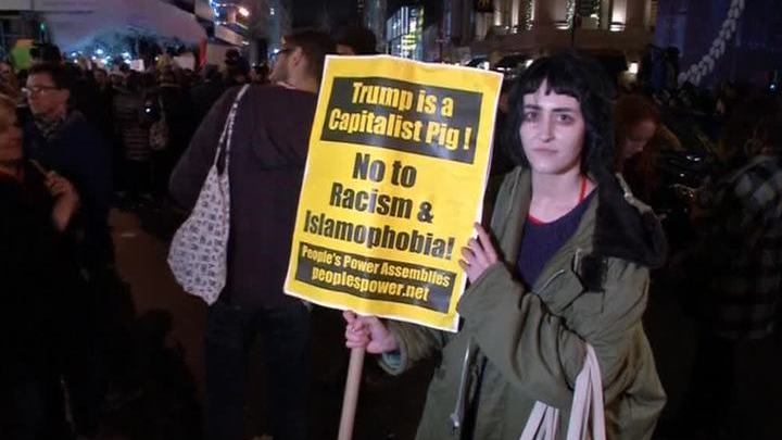 Выборы завершились протестами: арестованы десятки противников Трампа