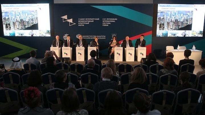 Развитие современного города обсудили на пленарном заседании Культурного форума