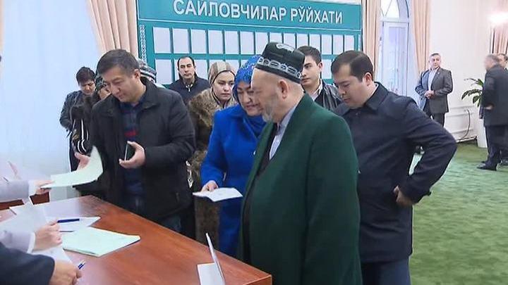 Явка на выборах президента Узбекистана составила почти 90 процентов