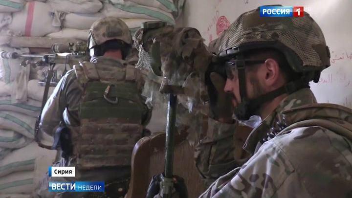 """Эксклюзив """"Вестей недели"""": полковник спецназа рассказал, как ликвидируют смертников"""