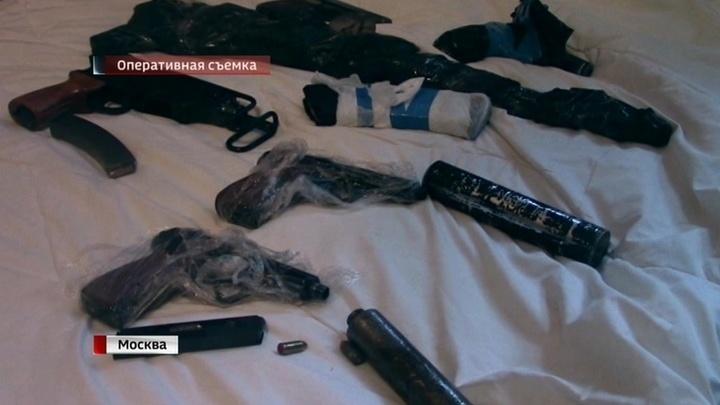 В Москве задержали четырех человек, готовивших теракты