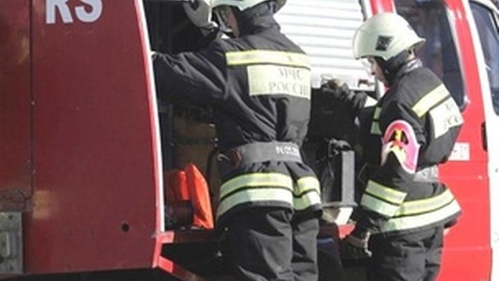 Пожар в пороховом цеху на заводе под Рязанью