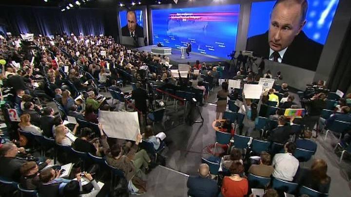 О политике, экономике, экологии, спорте: Путин подвел итоги года