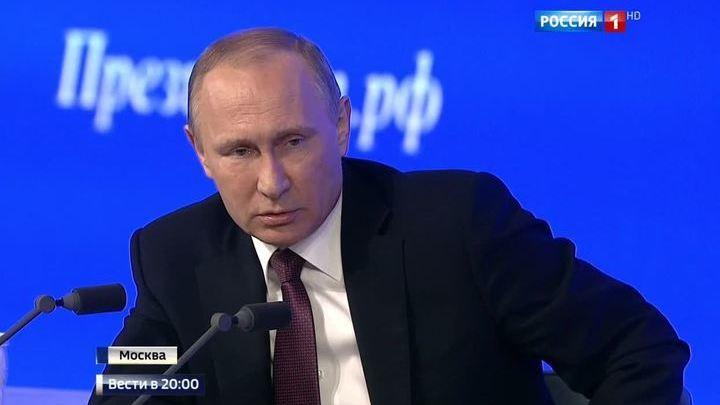 Пенсии, отношения с США, теракты и арест Улюкаева: Путин ответил на 62 вопроса