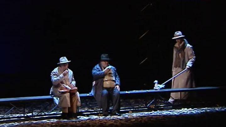 """В Театре имени Моссовета состоялась премьера спектакля """"Встречайте, мы уходим"""""""