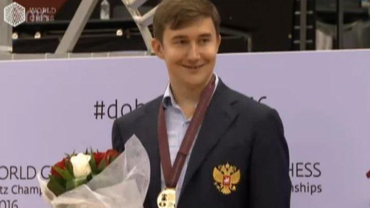 Не в этот раз, мистер Карлсен: Сергей Карякин – новый чемпион по блиц-шахматам