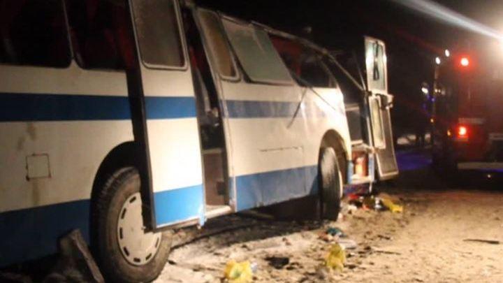 Авария на Алтае: трое погибших, 29 пострадавших