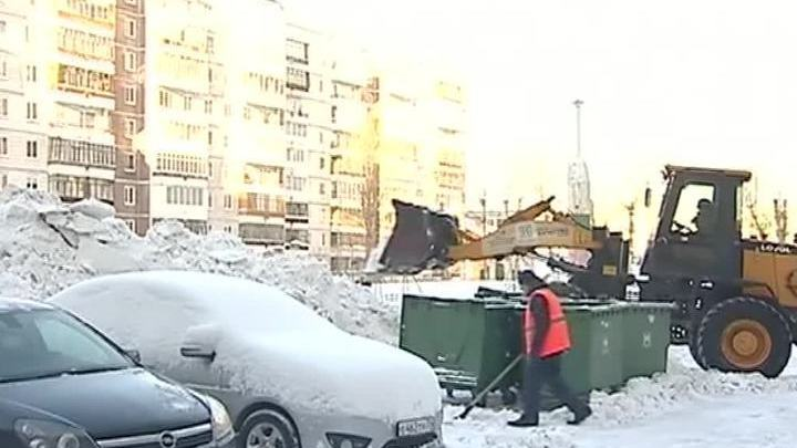 Томскую область завалило снегом
