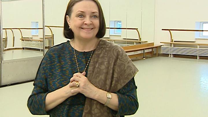 Балерина Людмила Семеняка отмечает юбилей