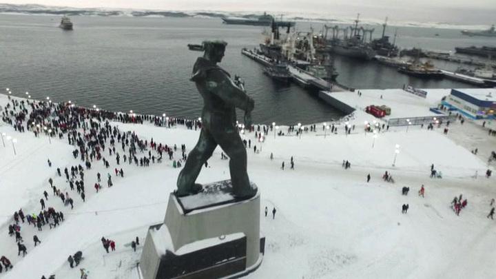 Североморск подарок на 14 февраля купить силиконовые цветы в спб