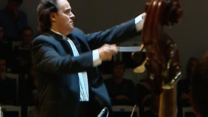 Оркестр Павла Когана дал концерт с дирижёром Хобартом Эрлом в Зале Чайковского