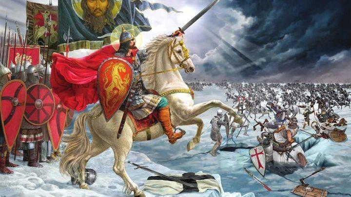 Александр Невский и победа на Чудском озере