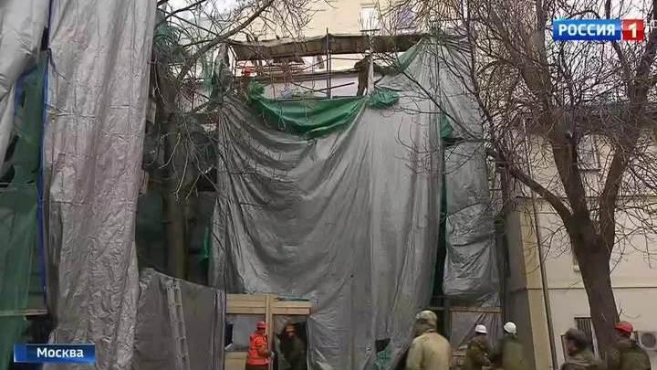 В Москве сносят самострой в двух шагах от Кремля