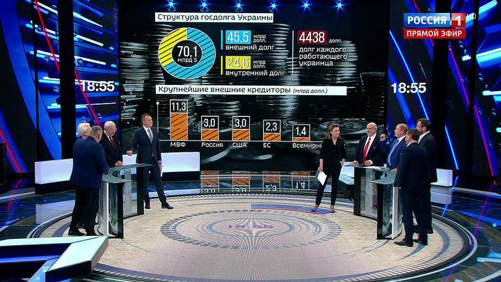 60 минут. Дефолт не за горами: Украина должна вернуть России 3 миллиарда долларов