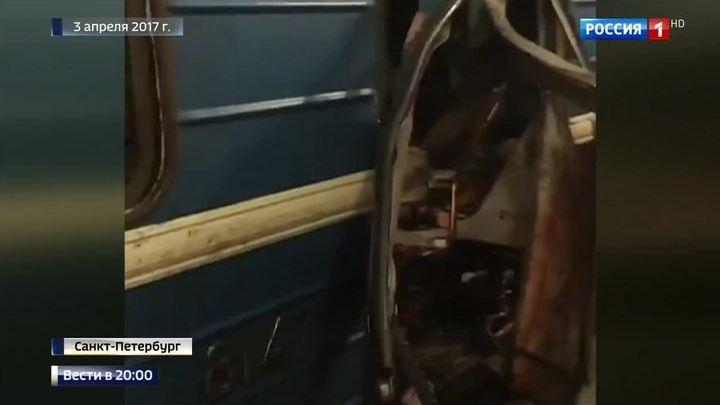Взрыв в петербургском метро устроил молодой человек из хорошей семьи