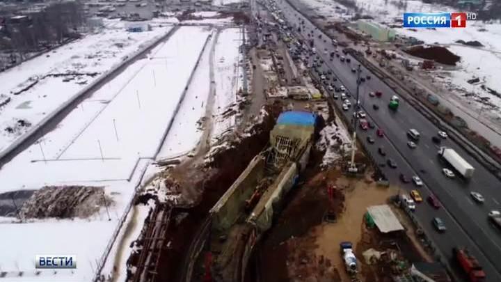 Названа причина обрушения тоннеля на Калужском шоссе