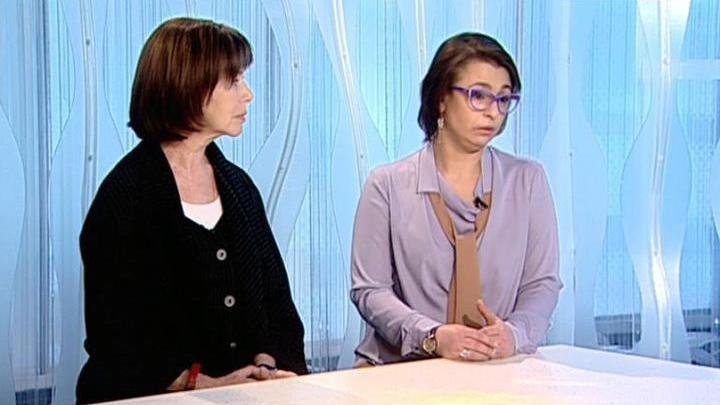 """На """"Худсовете"""". Ксения Башмет и Евгения Симонова"""