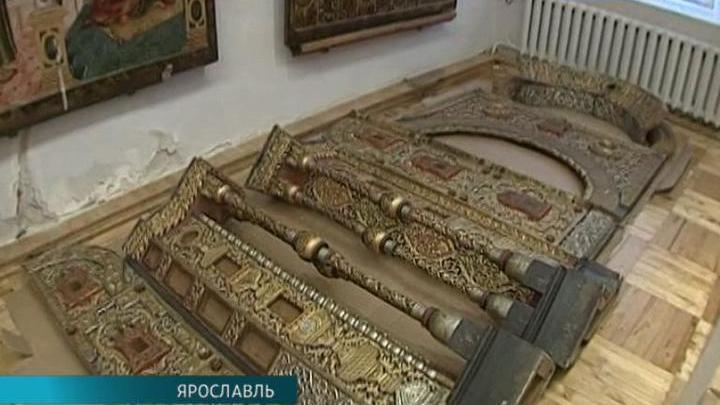 Царские врата храма Петра и Павла на Волге впервые отреставрируют