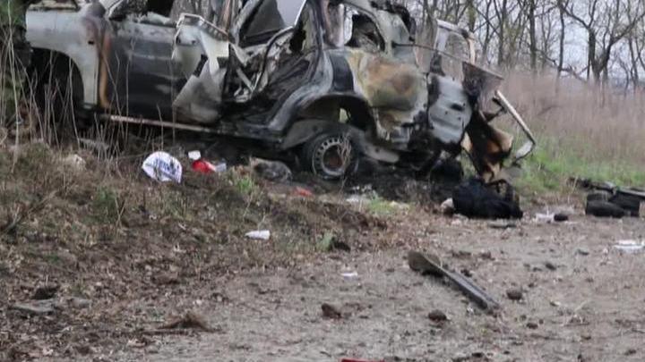 Подрыв сотрудников ОБСЕ: ополченцы обвинили силовиков в обстрелах