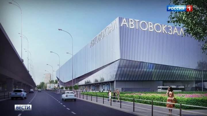 Щелковский автовокзал переехал под эстакаду