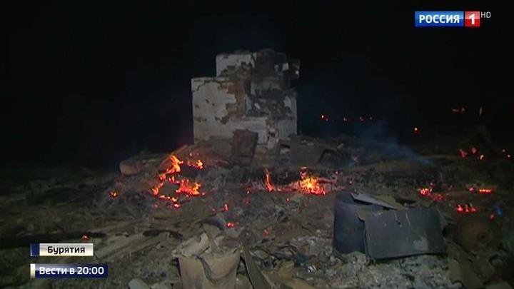 Огненный смерч выжигает сибирские деревни до последнего дома