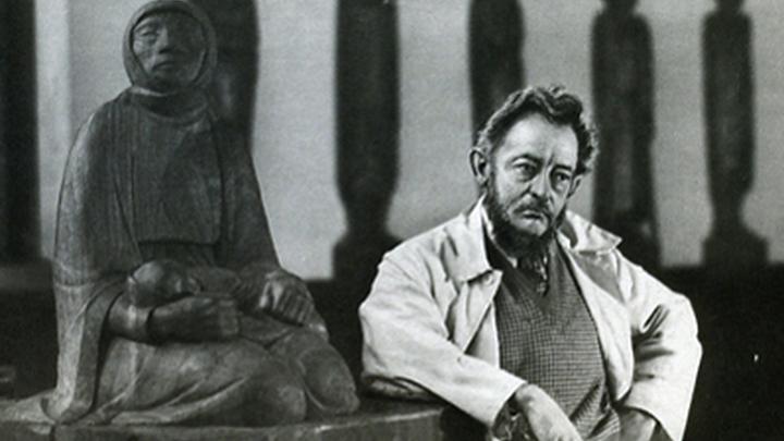 Эрнст  Барлах, немецкий  скульптор, график и писатель