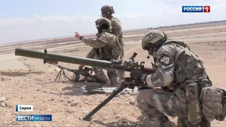 Бойцы Сил спецопераций поведали о боях в Сирии
