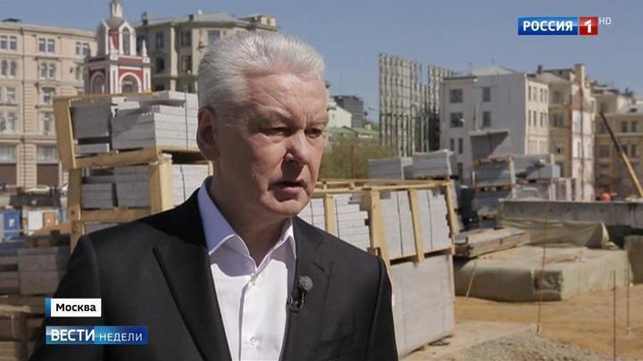Собянин сообщил детали реновации Москвы