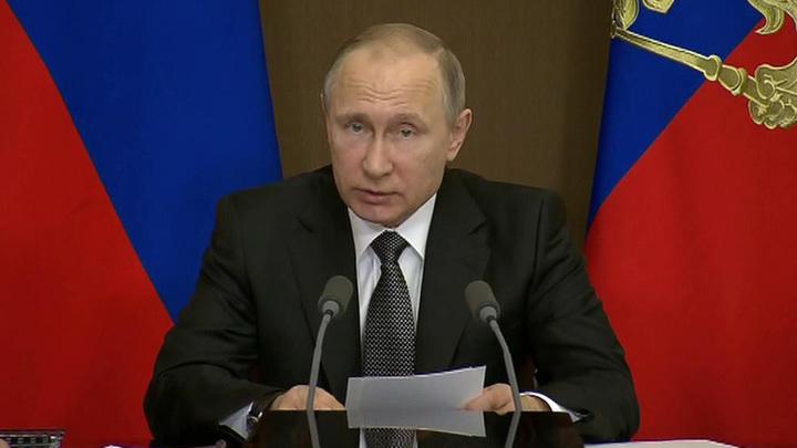 Путин: для обеспечения обороноспособности надо задействовать весь научный потенциал