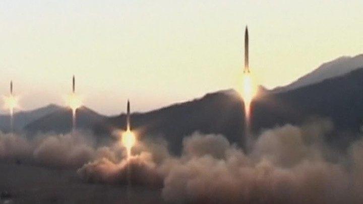 КНДР запустила неизвестную ракету