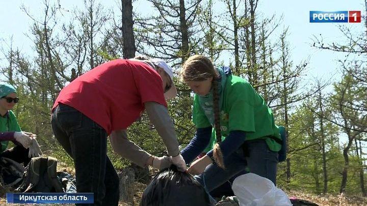 Байкал освобождают от годового мусора