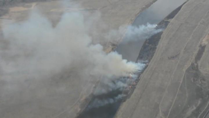 За сутки площадь лесных пожаров в Забайкалье увеличилась вдвое