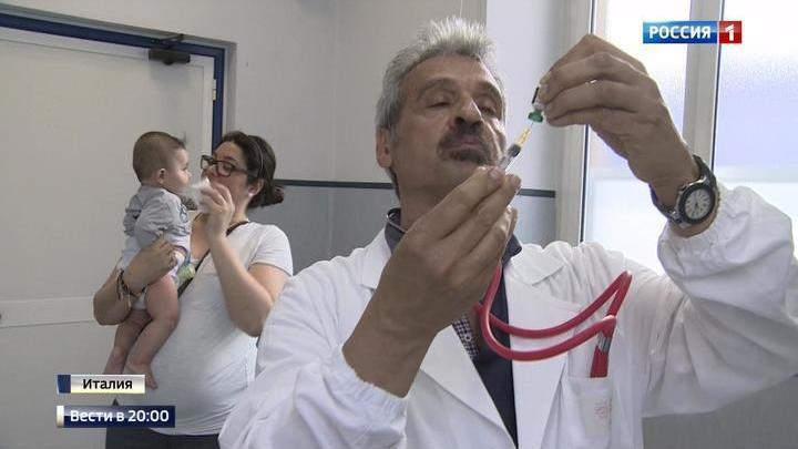 Италия: бороться с болезнями детей будут штрафами против родителей