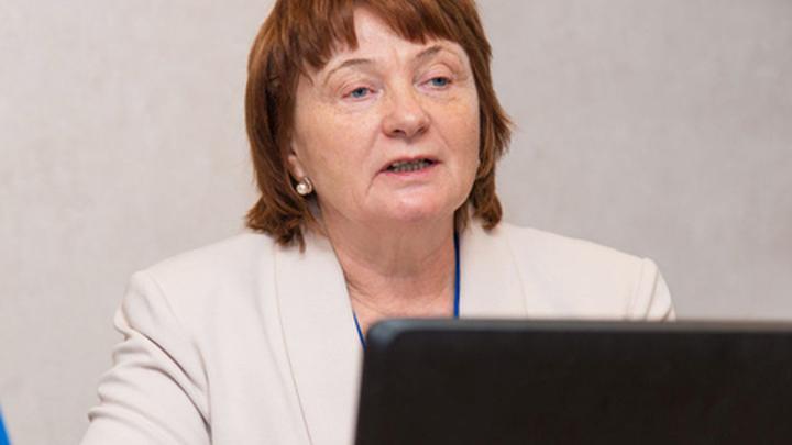 Заместитель директора НИИ холодильной промышленности Антонина Анатольевна Творогова.