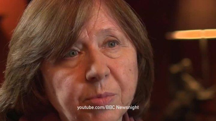 Нобелевский лауреат поражает гуманизмом: Алексиевич понимает убийц Бузины